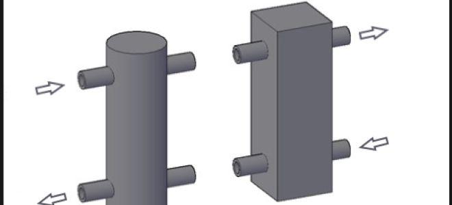 Гидрострелка (гидроразделитель) для системы отопления
