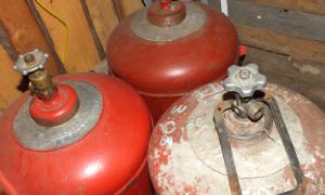 Соблюдайте правила по эксплуатации, хранению и перевозке газовых баллонов