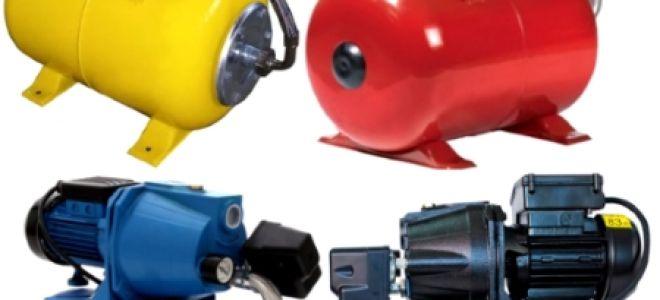 Насосные станции для водоснабжения дома: устройство, установка, подключение, принцип работы
