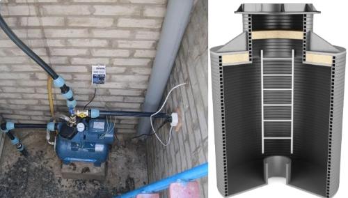 Кессон для станции водаснабжения